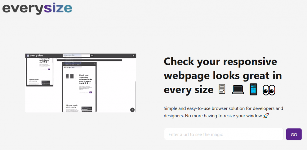 Everysize: Ensuring your website is responsive